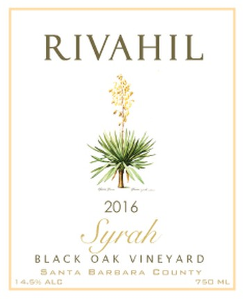 2016 Syrah - Black Oak Vineyard Image