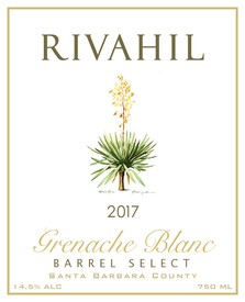 2017 Grenache Blanc  - Barrel Select