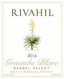 2016 Grenache Blanc  - Barrel Select