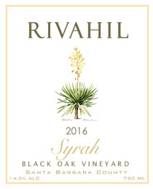 2016 Syrah - Black Oak Vineyard